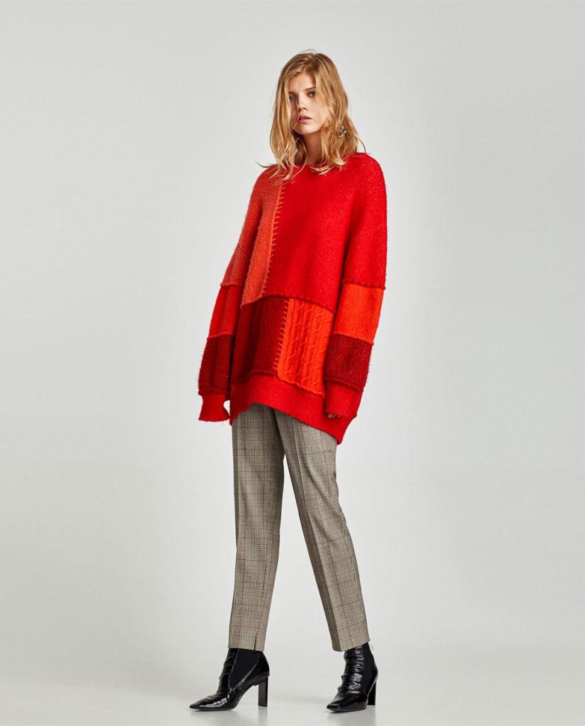 чинос под свитер светлые