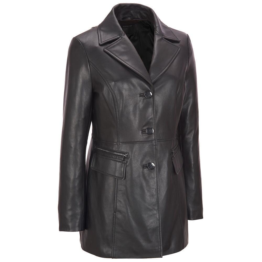 кожаные пиджаки женские 2018