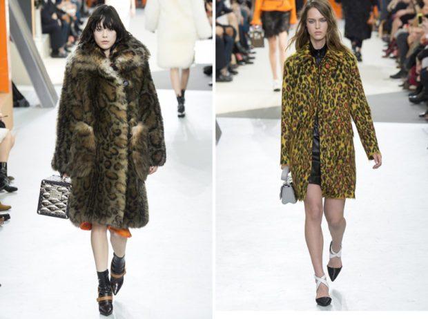 модные принты осень зима 2019-2020: леопардовый шубы
