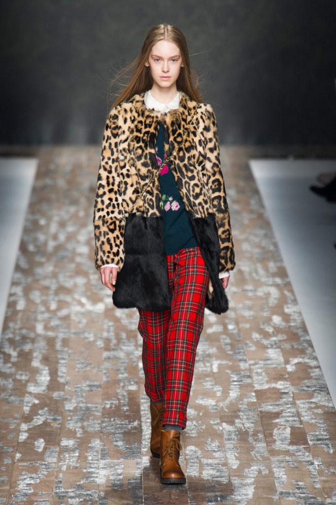 модные принты осень зима 2019-2020: леопардовый шубка короткая