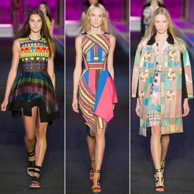 модные принты осень зима 2019-2020: абстракция