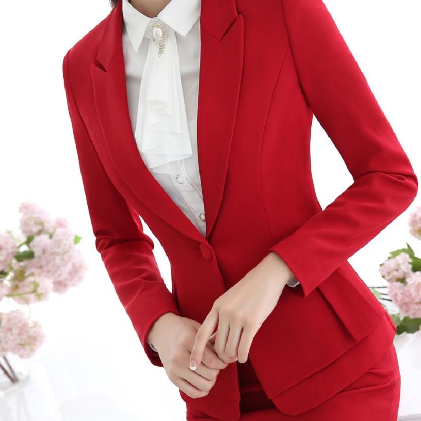 пиджак красный приталенный