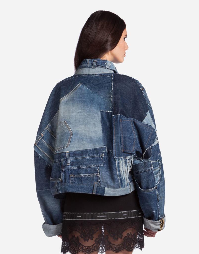 женские пиджаки: из денима оверсайз