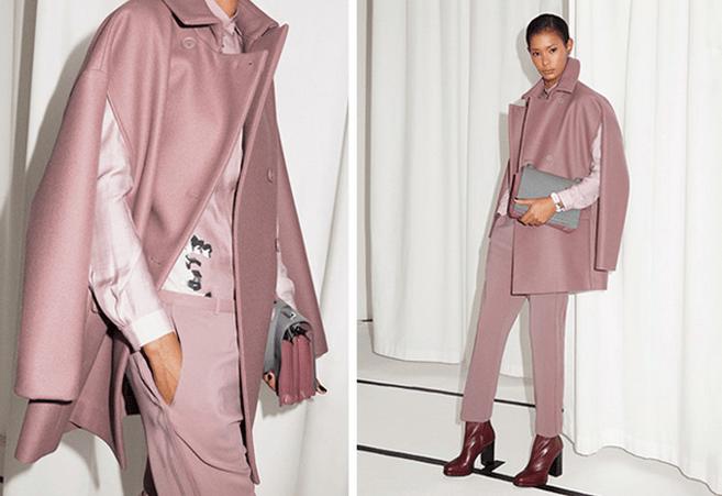 пиджак кейп розовый