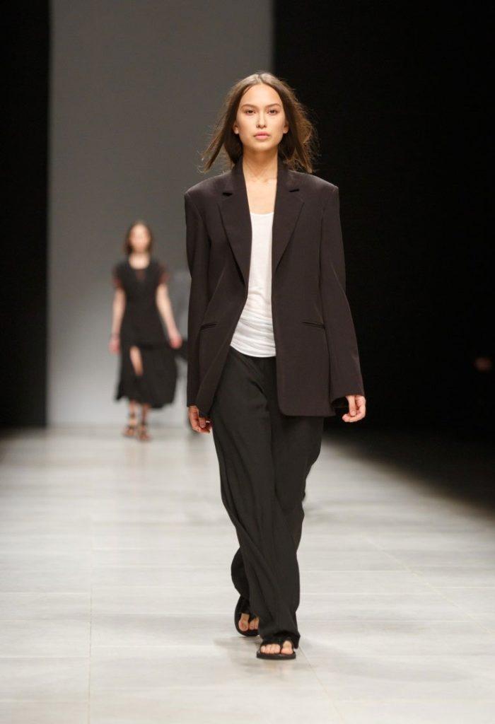 пиджак оверсайз черный