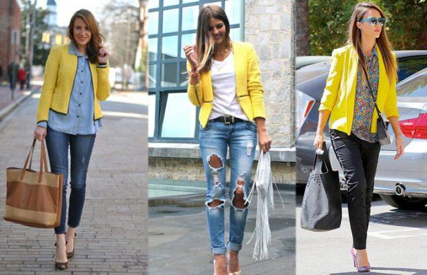 с чем носить джинсы: модные луки