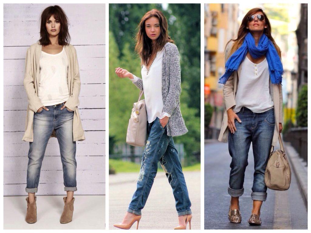 кардиган под джинсы светлый серый под каблуки