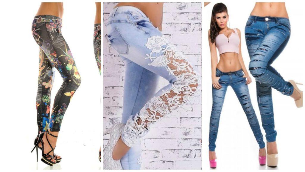 джинсы под каблуки