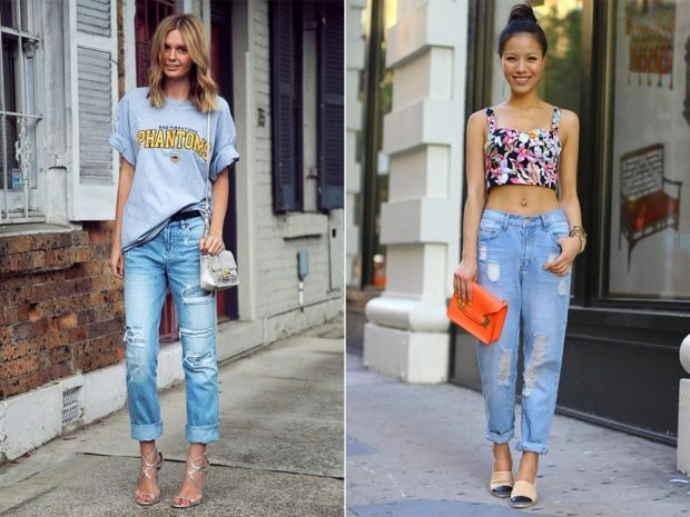 с чем носят джинсы: кэжуал луки