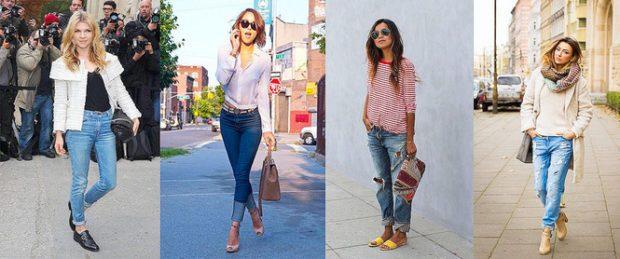 с чем носят джинсы: стильные луки