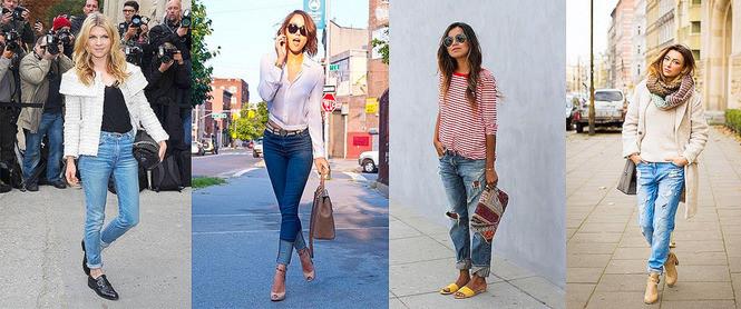 джинсы под туфли низкий ход на каблуке под сандали