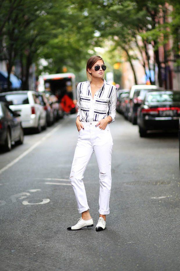 джинсы с чем носят