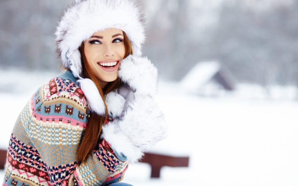 шапка осень-зима: меховая ушанка
