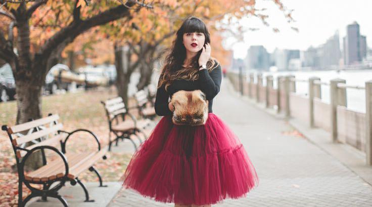 юбка пачка нарядная под черную кофту