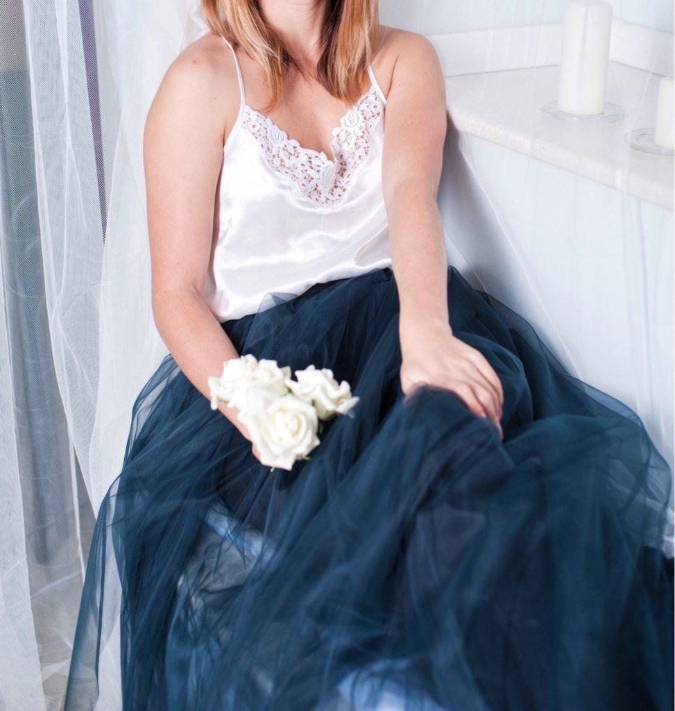 юбка пачка под аксессуары под розы