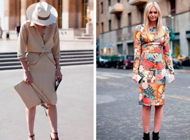 бежевая юбка под блузку в тон юбка и жакет яркие в цветы