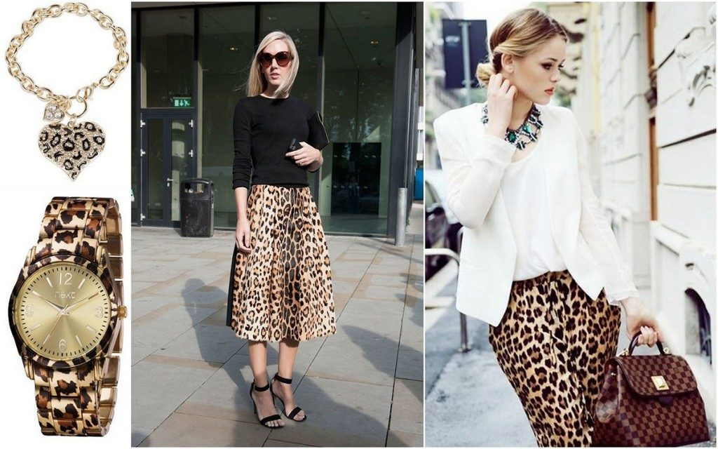 юбка-солнце миди леопардовый принт юбка-карандаш леопард