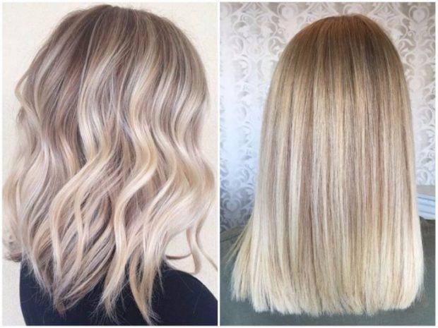 калифорнийское окрашивание волос
