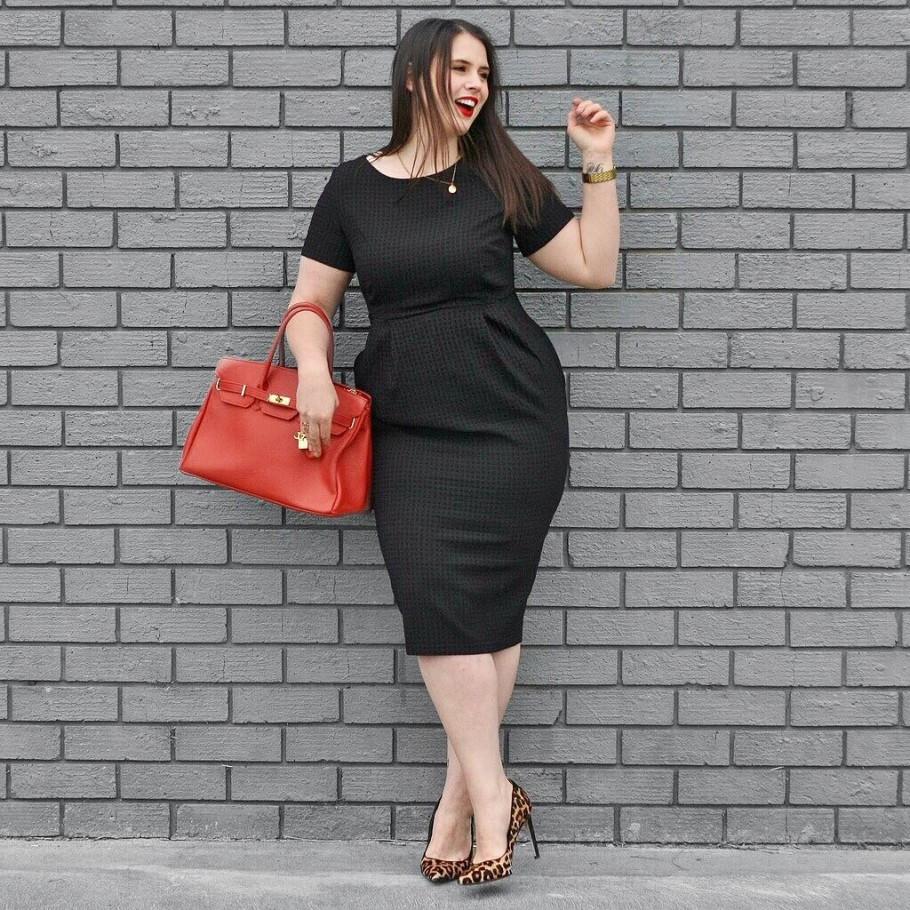 модный черный цвет в платьях