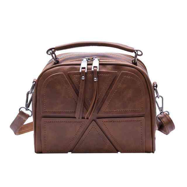 сумка коричневая