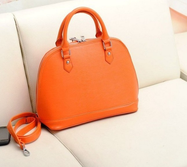 сумка оранжевая