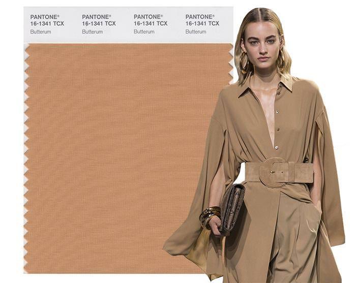 Модные цвета весна 2021: коричневый