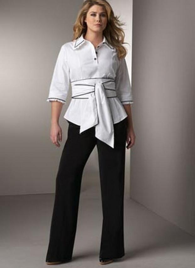 Классические брюки женские черные
