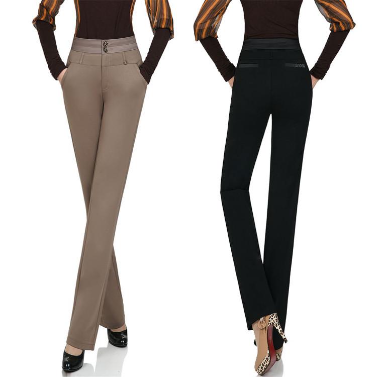 Классические брюки женские сере черные