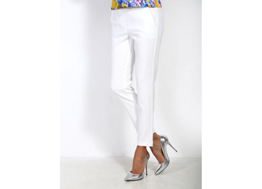 Прямые брюки белые