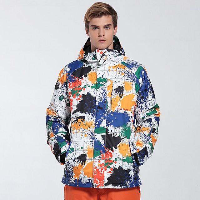 куртка сноубордическая яркая цветная