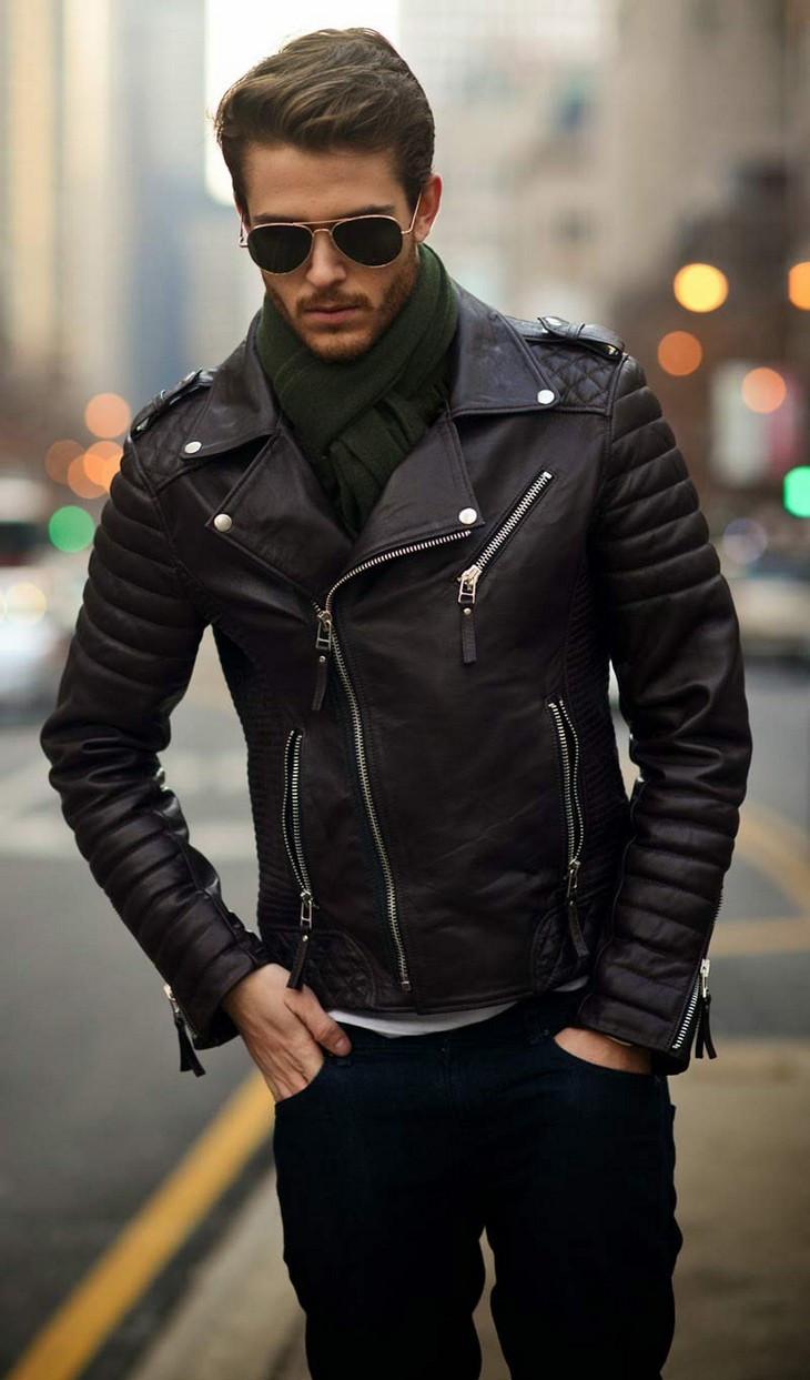 куртка-косуха черная