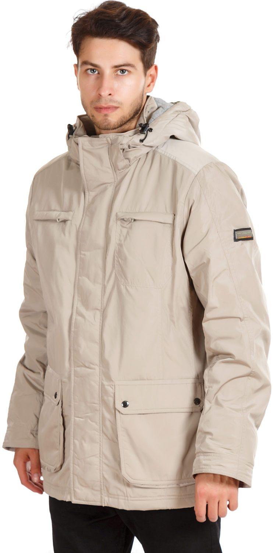 утепленная куртка светлая