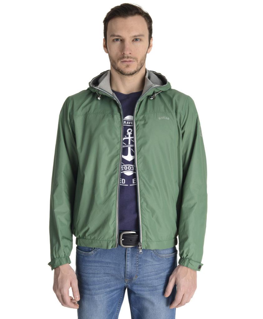 куртка бомбер зеленая