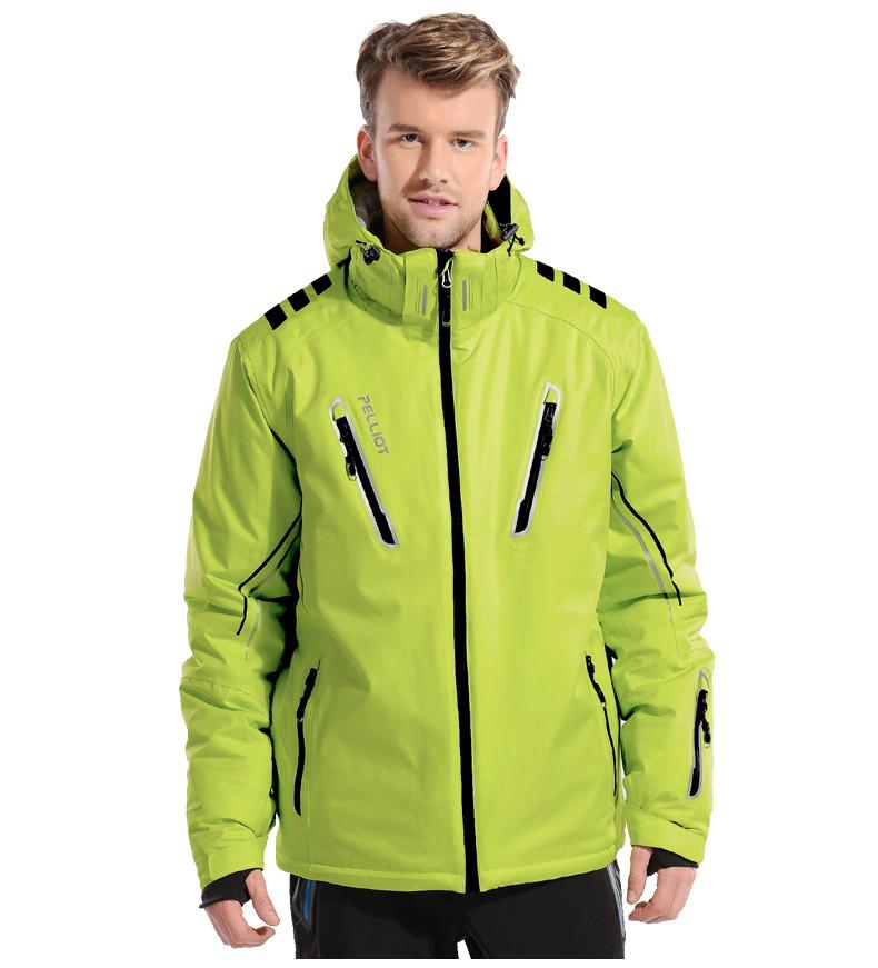 куртка сноубордическая салатовая