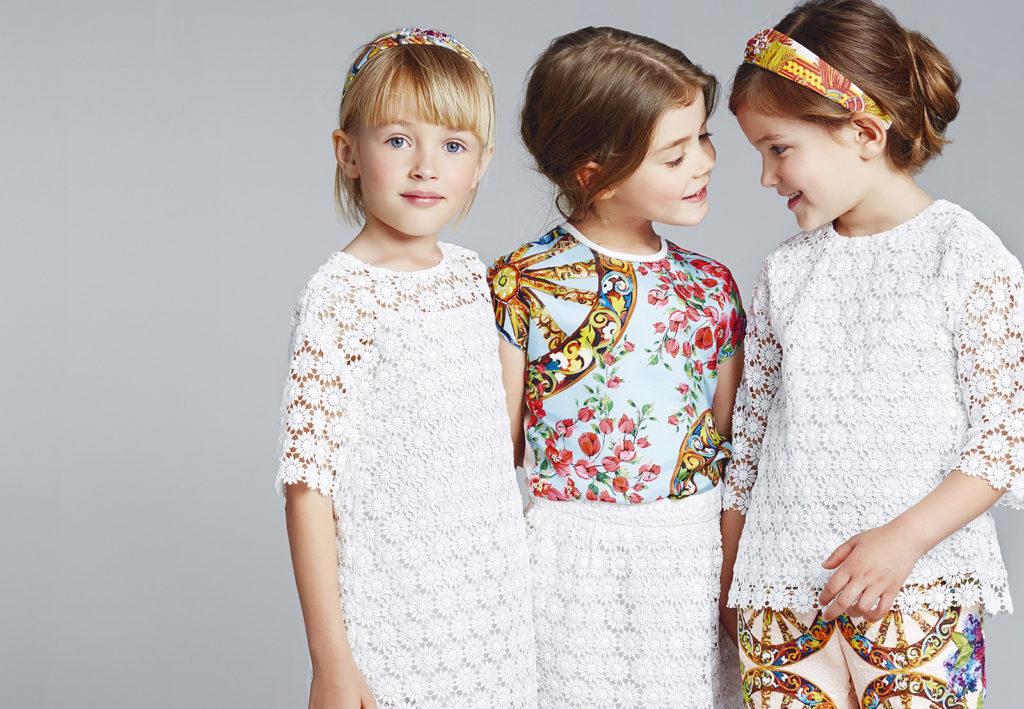 детская мода 2019-2020 - белое платье ажурное