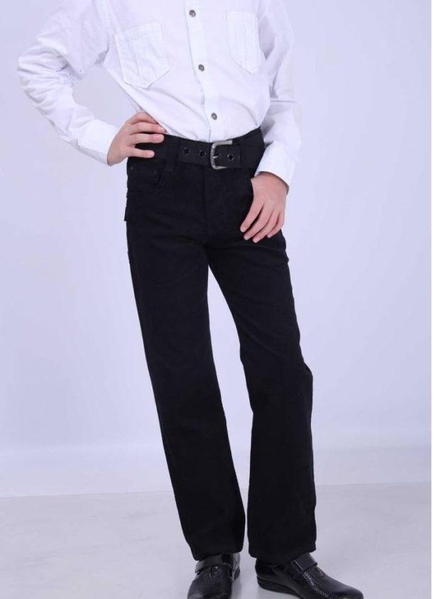 черные брюки классика для мальчиков