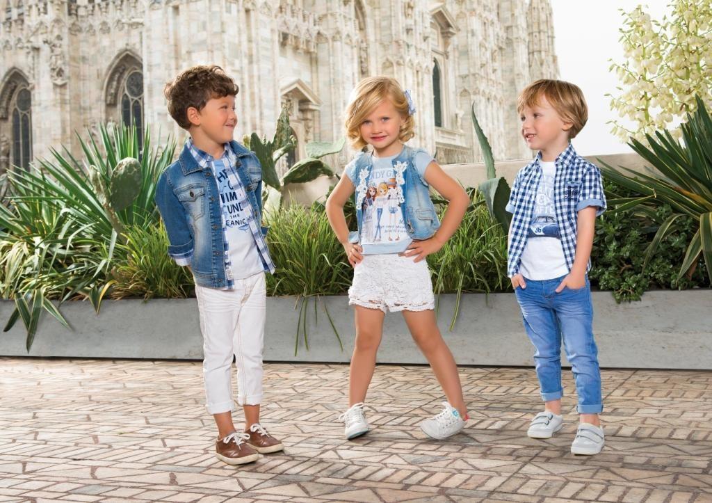 белые штаны короткие детская мода лето 2018