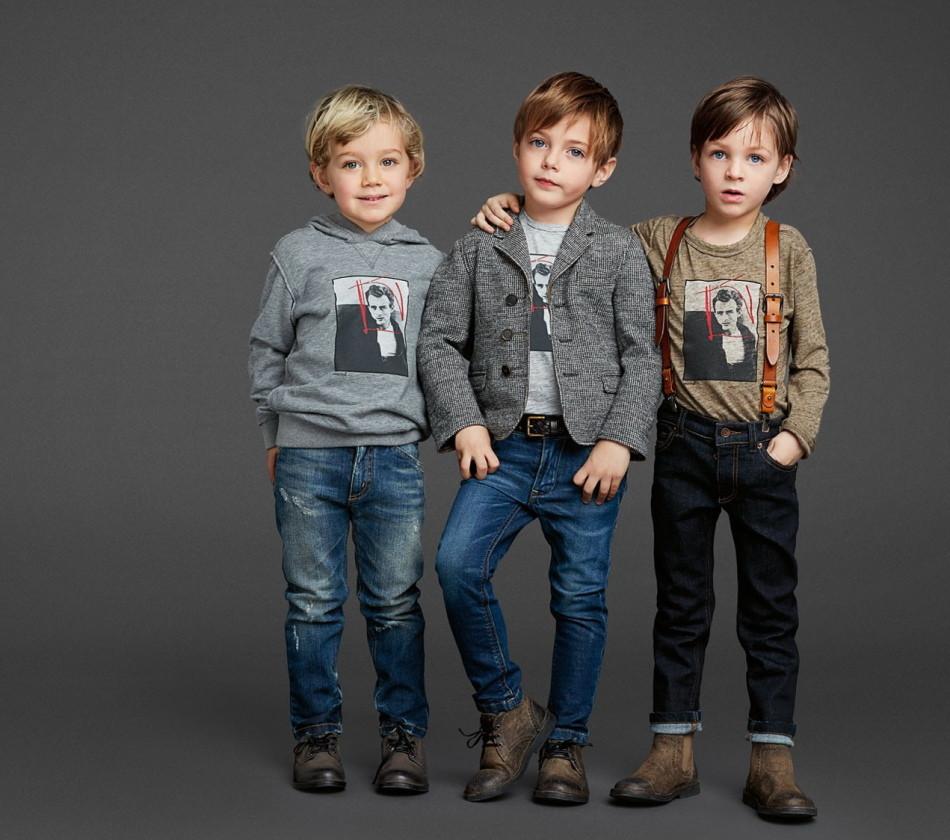 джинсы синие детская мода осень 2018
