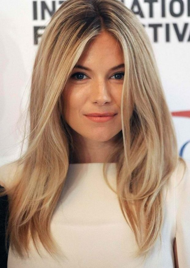 женские стрижки 2019-2020: лесенка на длинные волосы без челки