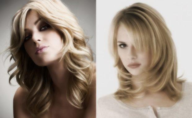 женские стрижки: итальянка на среднюю длину волос классический вариант