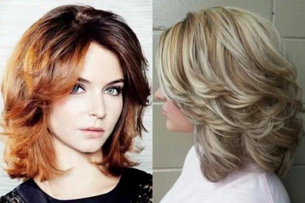 женские стрижки: рапсодия на среднюю длину волос без челки