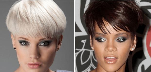 женская прическа: паж на короткие волосы