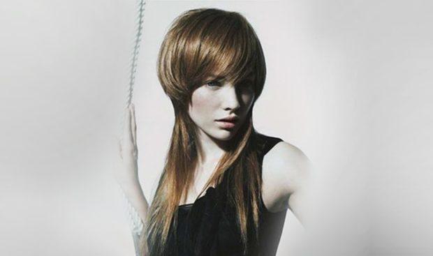 женские стрижки: шапочка на длинные волосы