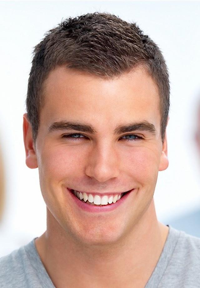 стрижка бокс на среднюю длину волос