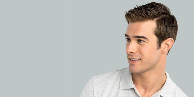 мужские стрижки: классическая на средние волосы