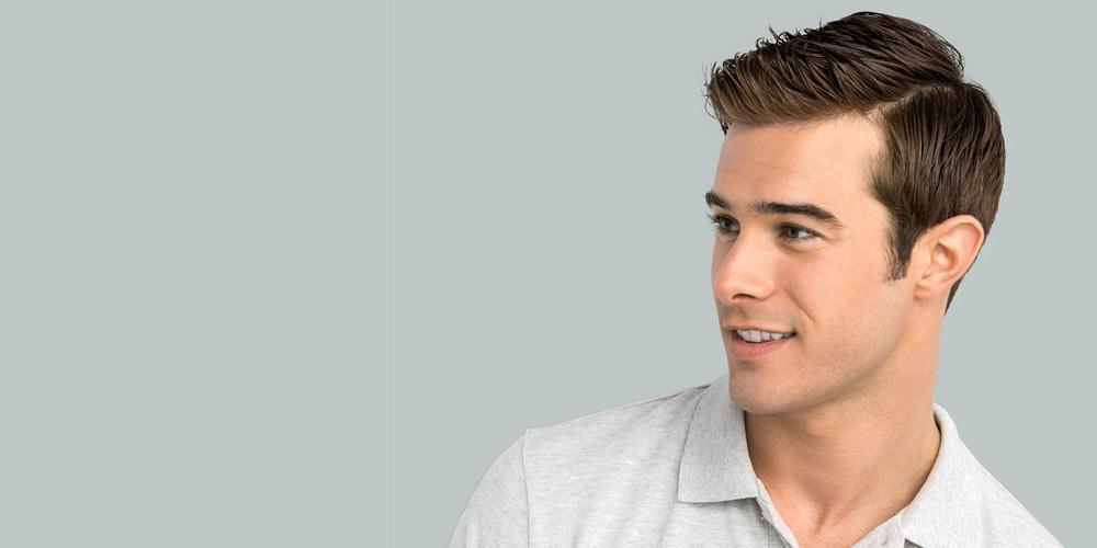 стрижка классическая на средние волосы