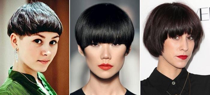 стрижка паж на короткие волосы классический вариант