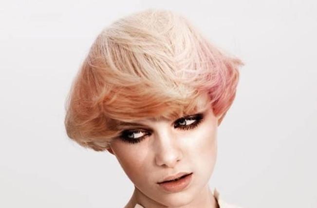стрижка сессон на волнистые волосы