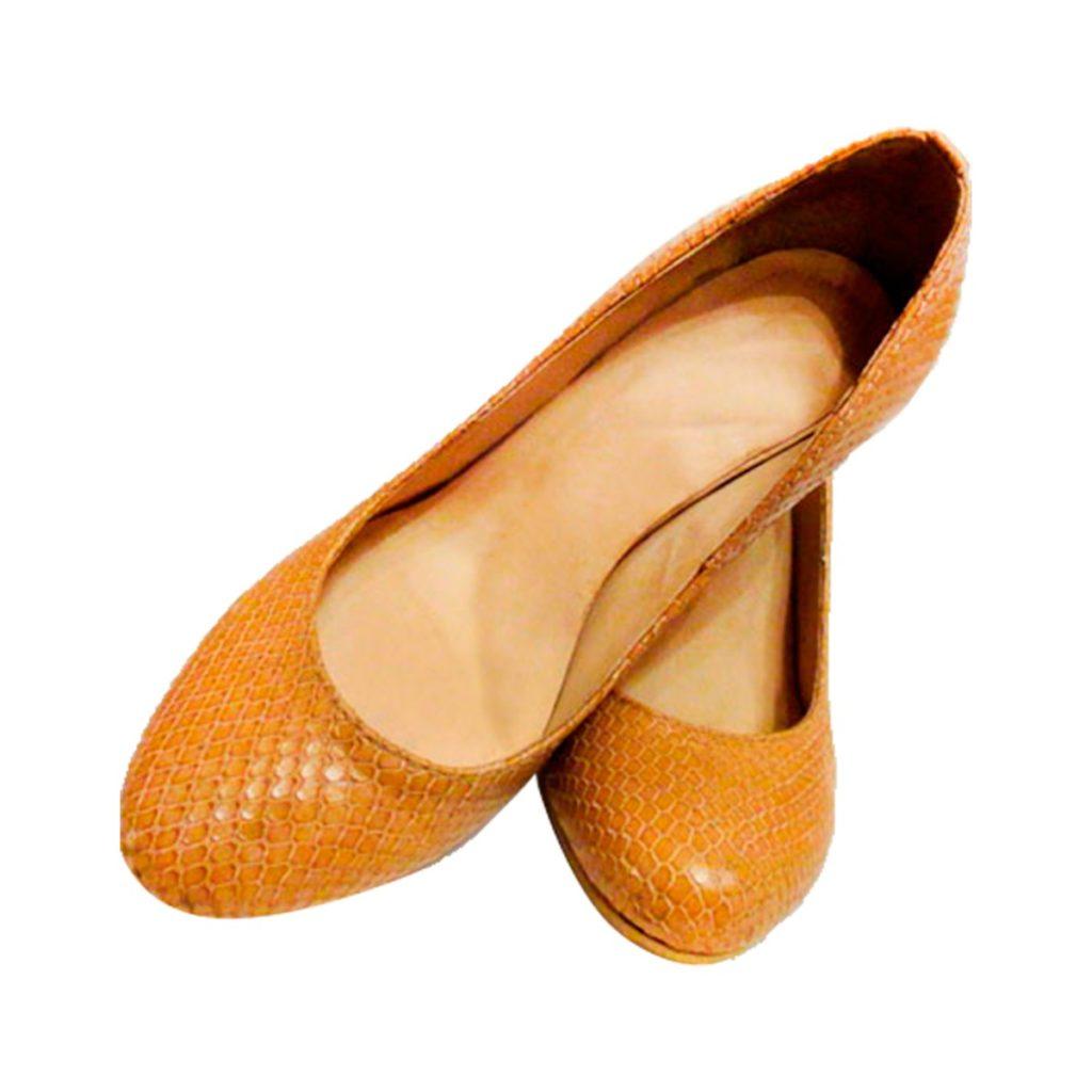 туфли оранжевые кожа питона