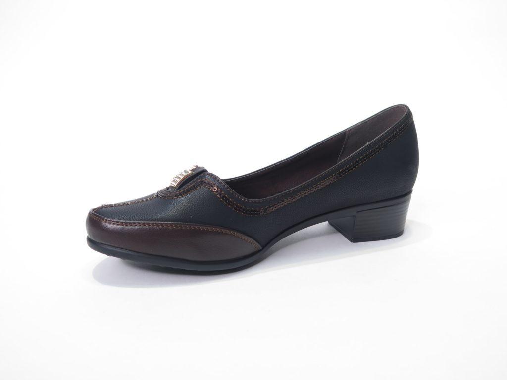 туфли на низком каблуке кожаные черные